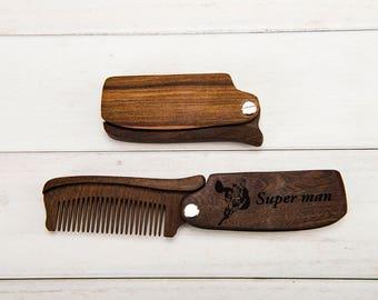 Super man Comb Super man Birthday Gift Super man Gift Super man Party Super man Comb , Super man Birthday, Super man Gift, Super man Party