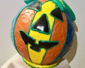 Beach Ball Pumpkin