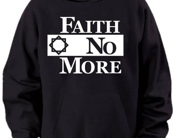 Faith No More Logo Hoodie Mens Sizes S M L Xl Xxl Xxxl 4xl 5xl