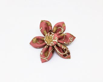Dog Collar Flower - Fabric Collar Flower - Pink Collar Flower