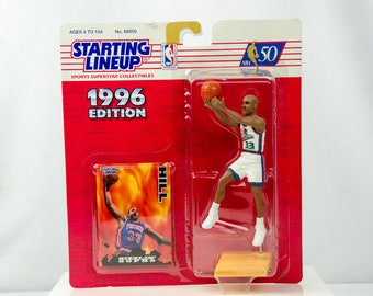 Starting Lineup 1996 Grant Hill Action Figure Detroit Pistons