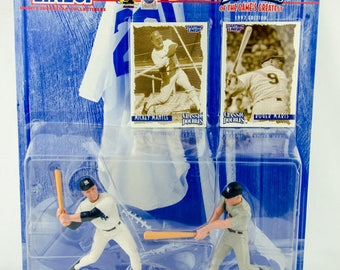 Starting Lineup Baseball 1997 Classic Doubles Mickey Mantle Roger Maris Figure