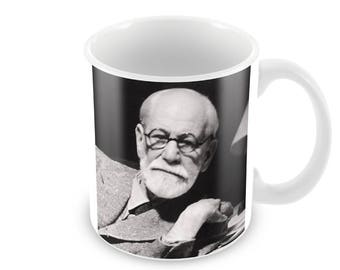 Sigmund Freud  Ceramic Coffee Mug    Free Personalisation