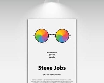 Movie Posters for Steve Jobs Art Print on Canvas Home Wall Decor