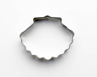 Scallop Cookie Cutter- Fondant Biscuit Mold - Pastry Baking Tool Set