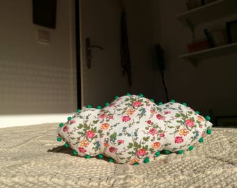 Mini cloud shaped cushion