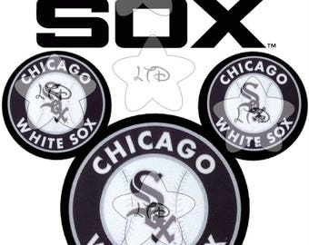 Chicago White Sox Digital Image,Diy