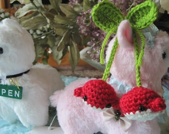 Whale Cherries Amigurumi