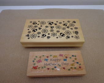 2 x New Rubber Stamps