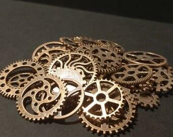 Copper Gears & Cogs