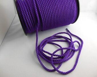 1 meter purple bead cord