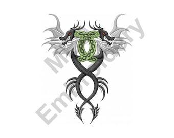 Dragon Tattoo - Machine Embroidery Design