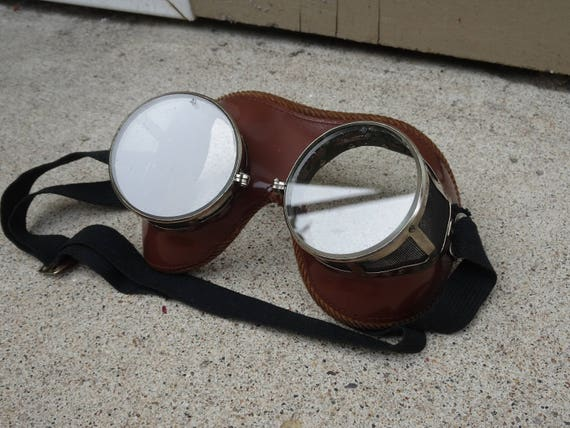 1df5edbd55 Vintage NFA American Optics Safety Goggles Eye Mask Style