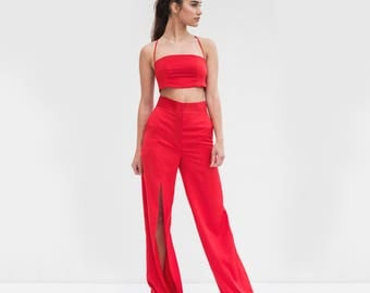 Power Red Two-Piece