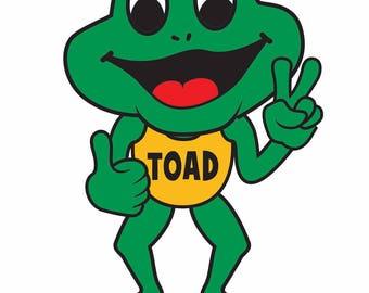 Toad Track Club Tee