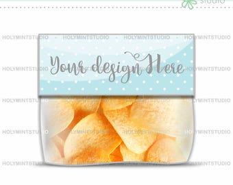 Bag Topper Mockup, Chips Bag Mockup, Chips Bag, Bag Topper, Potatoes Bag Mockup, Potato Mockup, Party Favors Mockup, Snack Bag Mockup