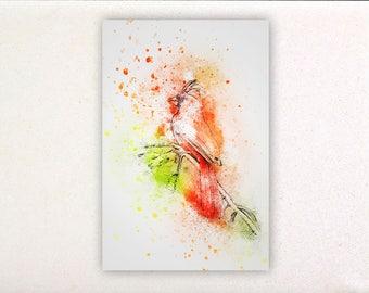 Birds - Watercolor prints, watercolor posters, nursery decor, nursery wall art, wall decor, wall prints 1   Tropparoba - 100% made Italy