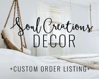 Lucy custom order