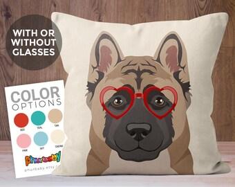 Akita Pillow | Pet Pillow | Cute Dog Gift | Dog Throw Pillow | Stuffed Dog Pillow | Decorative Pillow | Birthday Gift | Gifts Under 20