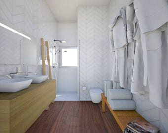 E-Design Package Bathroom