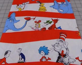 Dr Seuss Fabric, Stripes, Characters, Fox, Thing, Horton, Sam, Celebrate Seuss, Robert Kaufman, Birthday, Cotton, Woven, Fabric by the Yard