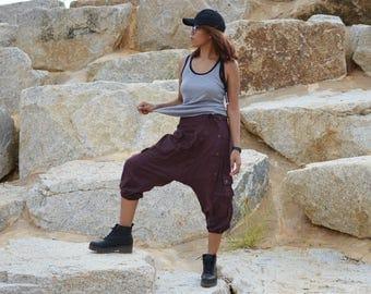Harem pants, Yoga pants, Ninja pants, Hippie pants, men, women, handmade item