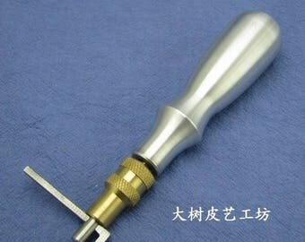 Handmade leather cowhide leather tools