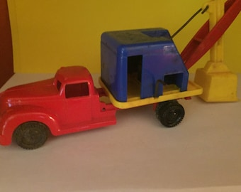 Ideal Toy Company Steam Shovel Truck 1950s