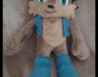 Sonic The Hedgehog Sally Acorn Plush