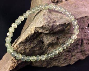 Green Prehnite Bracelet
