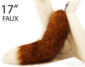 tail butt plug - fox tail butt plug - YOU CHOOSE PLUG - butt plug – bdsm - tail plug - sex toys - fox tail plug – butt plug tail – mature