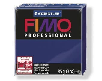 Pâte Fimo 85 g Professional Bleu marine 8004.34 - Fimo