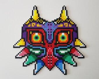 Mask of Majora (Zelda) Hama beads