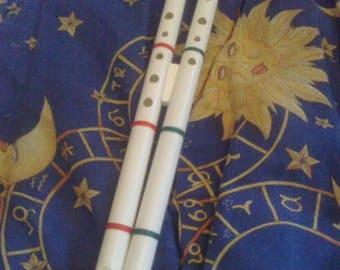 Double Whistle Flute D