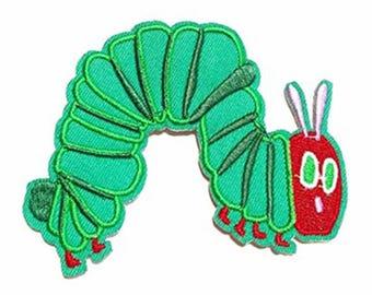 Green Worm Animal Patch W.Ch.Patch