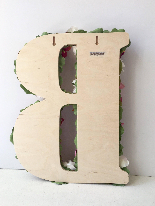 letter flower wedding decor custom strikingly m name decoration wall amazing floral ideas