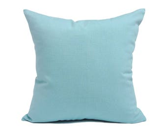 blue pillow case. kdays washed cotton canvas cream blue pillow cover decorative for couch throw case handmade cushion