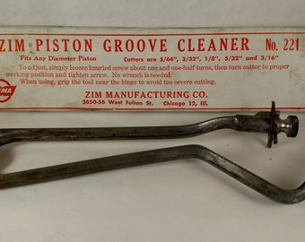 Vintage Piston Groove Cleaner