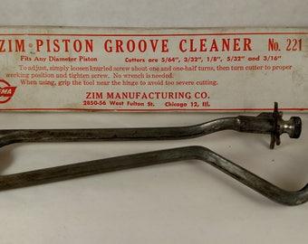 Vintage Piston Groove Cleaner