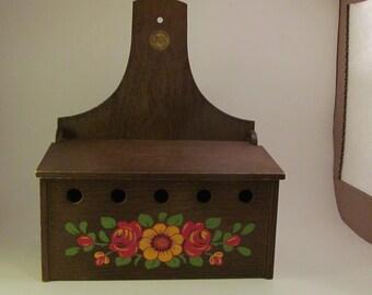 Vintage Emsa Wooden Box
