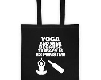 Yoga therapy Tote bag