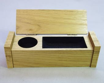 Wooden trinket, ring box.