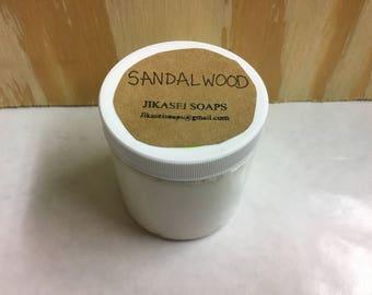 Organic Body Butter 8oz (sandalwood)