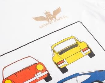 FLASH SALE!! Porsche 911 T-Shirt, Porsche T-Shirt, Men's T-Shirt, Classic Car T-Shirt, Supercar T-Shirt