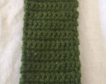 Forrest Green Crochet Headband