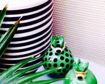 set of ceramic pomegranates/ home decoration