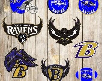 Baltimore Ravens SVG,DXF,clipart,baltimore ravens cut file