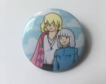 Howl's Moving Castle Pin-Back Button