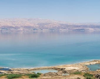 The Dead Sea and its sinkholes