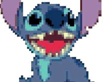 Stitch (Lilo and Stitch) Cross Stitch Pattern